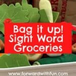 Grocery Sorting: A Sight Words Activity