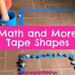 Math and More with Tape Shapes