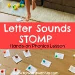 Letter Sounds STOMP: A Hands-on Learning Activity