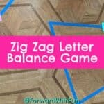 Zig Zag Letter Sounds Movement Game